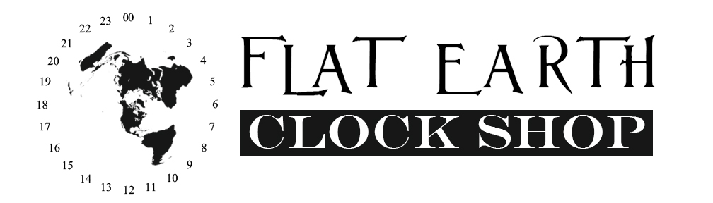 Flat Earth Clock Shop